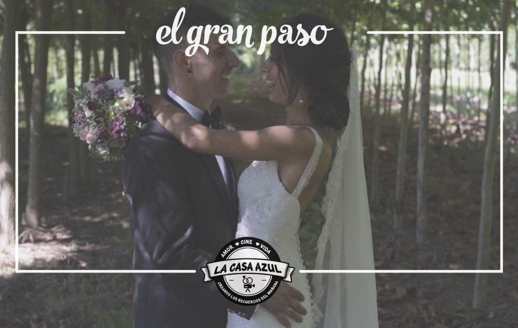 El gran paso ı Videos de boda en Cantabria