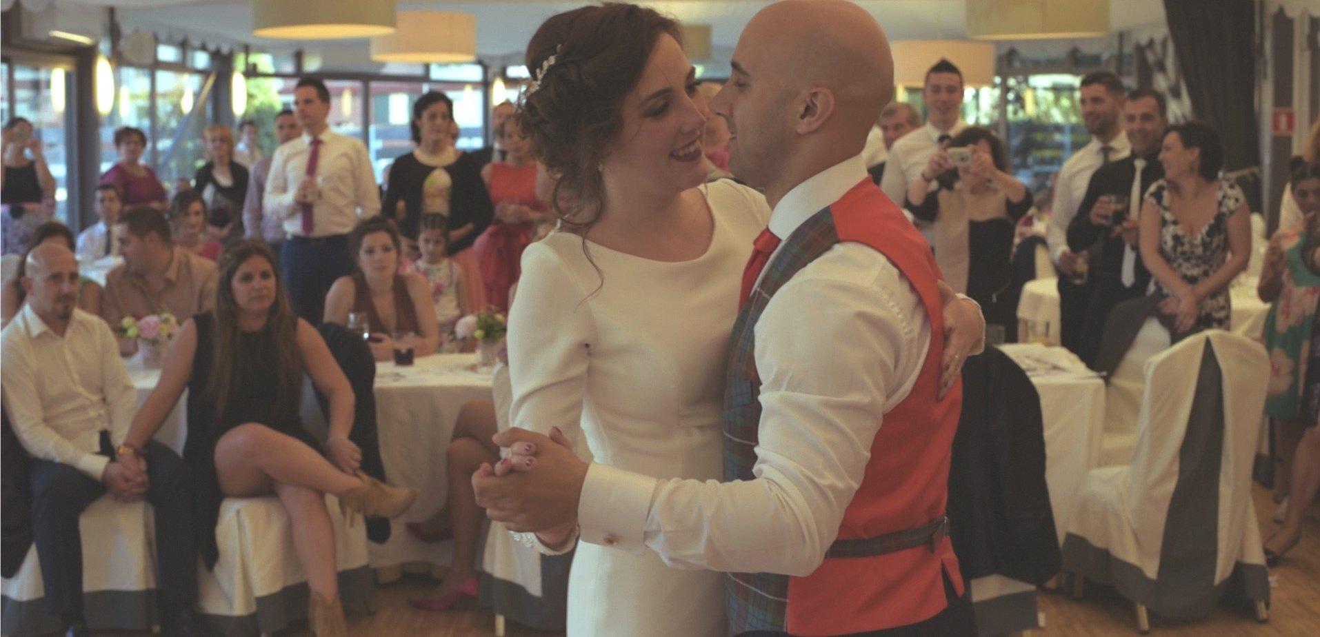 wedding video in Santander