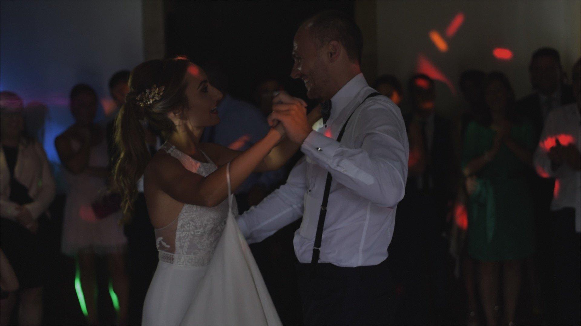 Video de boda cenador de amos