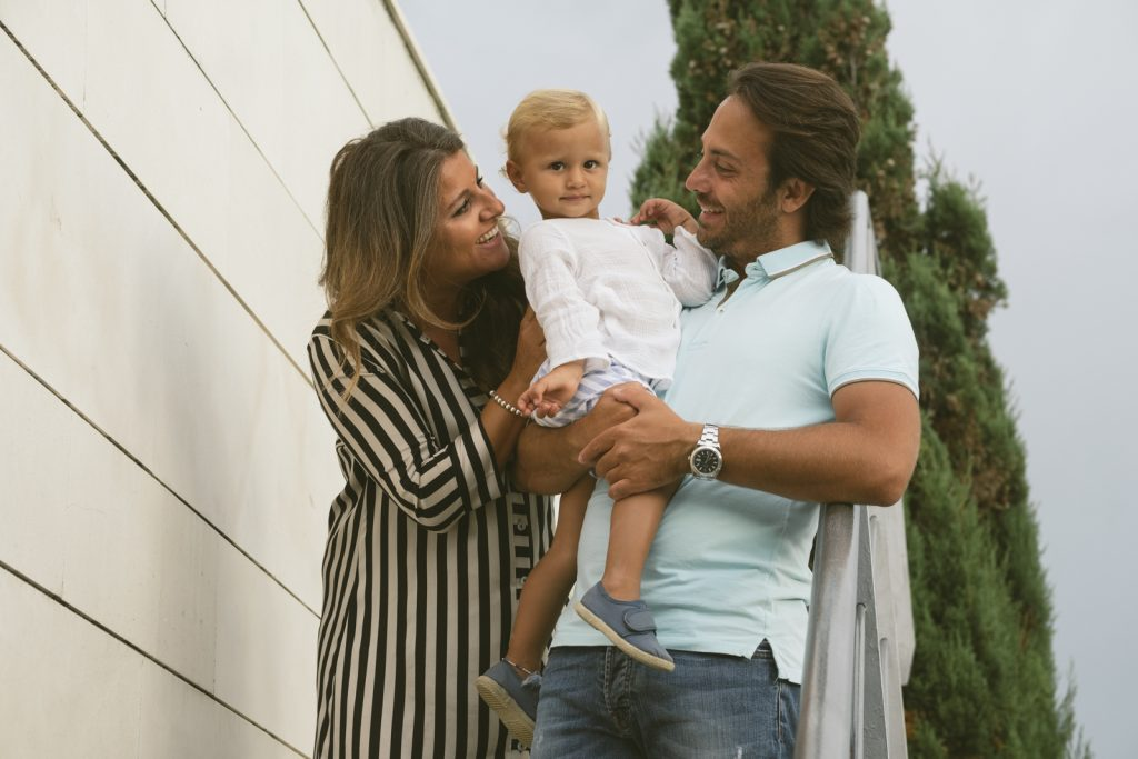Fotografía de familia en Santander